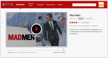 Netflix Mad Men